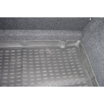 Коврик в багажник RENAULT Clio III 2005-, хетчбек (полиуретан) NOVLINE