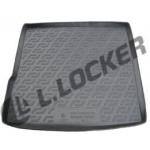 Коврик в багажник Renault Duster 2WD (10-) твердый L.Locker