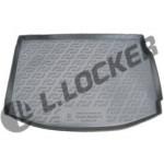 Коврик в багажник Renault Megane III хетчбек (08-) полиуретан (резиновые) L.Locker