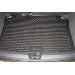Коврик в багажник SEAT Ibiza 3D, 5D, 05/2008-, хетчбек (полиуретан) Novline