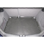 Коврик в багажник SEAT Leon 10/2007-, хетчбек (полиуретан) Novline