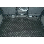Коврик в багажник Skoda Roomster 2006-, мв. (полиуретан) Novline