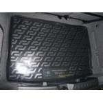 Коврик в багажник Volkswagen Golf+ хетчбек (04-) (пластиковый) L.Locker