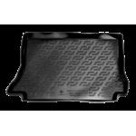 Коврик в багажник Zaz Lanos хетчбек (09-) полиуретан (резиновые) L.Locker