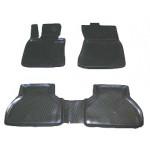 Коврики BMW 5 седан (03-) полиуретан (резиновые) L.Locker