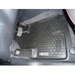 Коврики Hyundai Santa Fe new (06-) полиуретан (резиновые) L.Locker