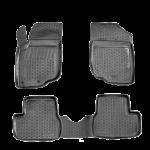 Коврики Peugeot 207 (06-) полиуретан (резиновые) L.Locker