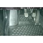 Коврики в салон SEAT Altea Freetrack 2007->, 4 шт. (полиуретан) - Novline
