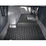 Коврики Skoda Roomster (06-) полиуретан (резиновые) L.Locker