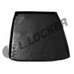 Коврик в багажник Volkswagen Passat B7 (11-) полиуретан (резиновые) - Лада Локер