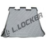 Коврик в багажник Volkswagen Sharan (95-10) полиуретан (резиновые) - Лада Локер