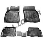 Коврики в салон Nissan Almera (06-) полиуретан (резиновые) комплект Lada Locker