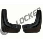 Брызговики SsangYong Actyon (11-) задние комплект Lada Locker
