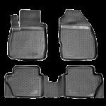 Коврики в салон Ford Fiesta (08-) полиуретан (резиновые) комплект Lada Locker