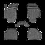 Коврики в салон Opel Astra хетчбек (04-) полиуретан (резиновые) комплект Lada Locker