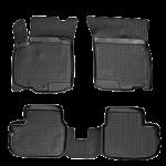 Коврики в салон Suzuki Swift (04-) полиуретан (резиновые) комплект Lada Locker