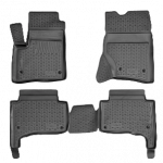 Коврики Volkswagen Touareg (10-) полиуретан (резиновые) комплект Lada Locker