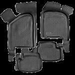 Коврики в салон ВАЗ 2108-09/2113-15 полиуретан (резиновые) комплект Lada Locker