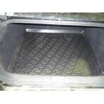 Коврик в багажник Peugeot 407 седан (04-) - (пластиковый) Лада Локер