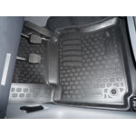 Коврики в салон Volkswagen Caddy передние (04-) полиуретан (резиновые) комплект Lada Locker