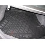 Коврик в багажник Nissan Tiida седан (06-) - твердый Лада Локер