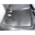 Коврики в салон Fiat Doblo Panorama (01-) полиуретан (резиновые) комплект Lada Locker