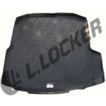 Коврик в багажник Skoda Octavia III liftback (13-) - твердый Лада Локер