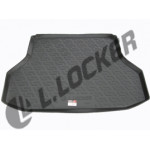 Коврик в багажник Daewoo Gentra II седан (13-) - твердый Лада Локер
