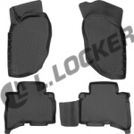 Коврики Great Wall Hover H3/H5 (10-) полиуретан (резиновые) комплект Lada Locker