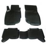Коврики в салон Toyota Hilux Pick Up (10-) полиуретан (резиновые) комплект Lada Locker