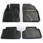 Коврики в салон Toyota Avensis (09-) полиуретан (резиновые) комплект Lada Locker