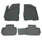 Коврики в салон Chery Bonus A13 (11-) полиуретан (резиновые) комплект Lada Locker