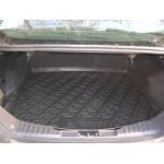 Коврик в багажник Ford Focus new III седан (11-) твердый - полипропилен L.Locker