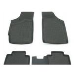 Коврики в салон Lifan Smily 320 (08-) полиуретан (резиновые) комплект Lada Locker