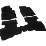 Коврики в салон Geely LC Cross (12-) полиуретан (резиновые) комплект Lada Locker