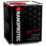 Минеральное масло для лодочных моторов NANOPROTEC 2T OUTBOARD