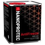 Красный антифриз Nanoprotec Antifreeze Red-80. Купить антифриз красный Нанопротек.
