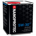 Синтетическое моторное масло NANOPROTEC ENGINE OIL 5W-30 С3