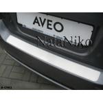 Накладки на бампер CHEVROLET AVEO II 5D/3D 2006- NataNiko