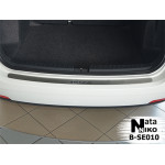 Накладки на бампер SEAT IBIZA IV универсал 2010- NataNiko
