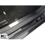 Накладки на внутренние пороги Skoda FABIA III 5D 2015- 2 шт на пластик Premium NataNiko