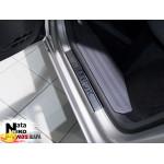 Накладки на пороги Volkswagen AMAROK 2010- Premium NataNiko