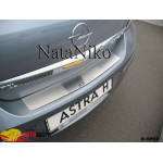 Накладки на бампер OPEL ASTRA III H 4D 2004-2009 NataNiko