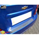 Накладки на бампер CHEVROLET AVEO III 4D 2011- NataNiko