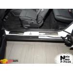 Накладки на пороги FORD B-MAX 2012- Premium NataNiko
