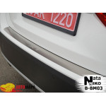 Накладки на бампер BMW X1 2009- NataNiko