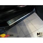 Накладки на пороги KIA CARENS III 2006- Premium NataNiko