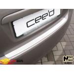 Накладки на бампер KIA CEED I 5D 2006- NataNiko