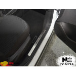 Накладки на внутренние пороги OPEL CORSA D 5D_E 5D 2006-/2014- Premium NataNiko