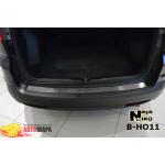 Накладки на бампер HONDA CR-V IV 2013- NataNiko